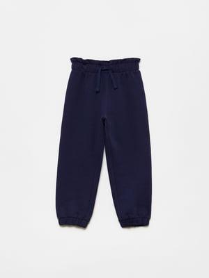 Брюки спортивные синие | 5651149