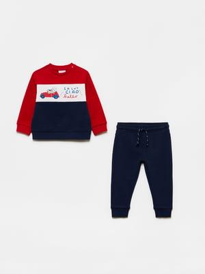 Костюм спортивный: свитшот и брюки | 5651222