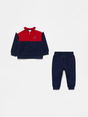 Костюм спортивный: толстовка и брюки | 5651225