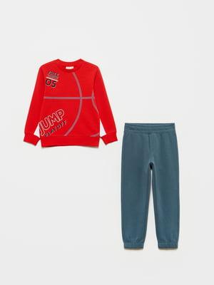 Костюм спортивный: свитшот и брюки | 5651227