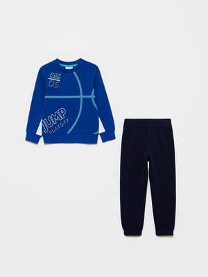 Костюм спортивный: свитшот и брюки | 5651228