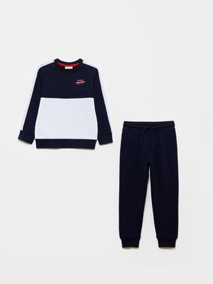 Костюм спортивный: свитшот и брюки | 5651230