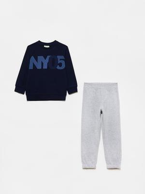 Костюм спортивный: свитшот и брюки | 5651232