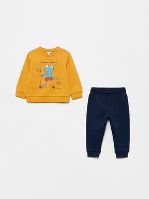 Костюм спортивный: свитшот и брюки | 5651289