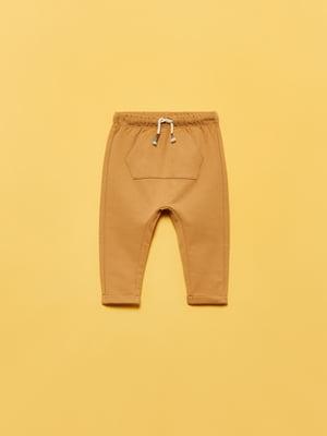 Брюки коричневого цвета   5651291