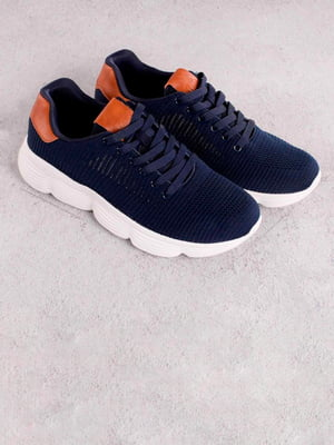 Кроссовки синие | 5643497