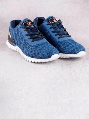 Кроссовки синие   5643680