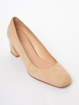 Туфли бежевого цвета | 5663457