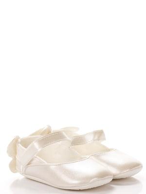 Пинетки-туфельки молочного цвета | 5666493