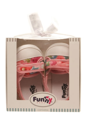 Кеди-рожеві туфельки в принт | 5666499