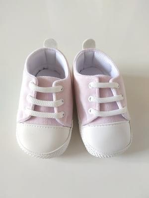 Пінетки-кеди світло-рожеві | 5666502
