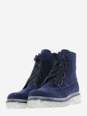 Ботинки синие | 5635846
