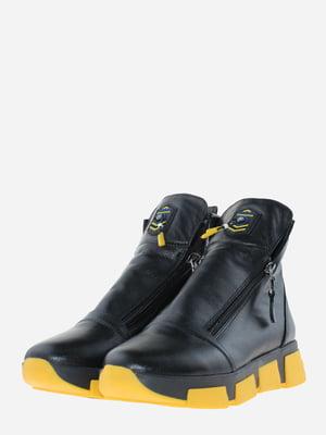 Ботинки черные | 5656160