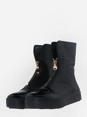 Ботинки черные | 5656165