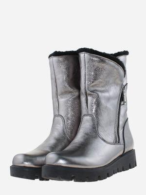 Ботинки серебристого цвета | 5656169