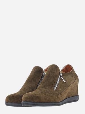 Снікерси коричневого кольору | 5661181