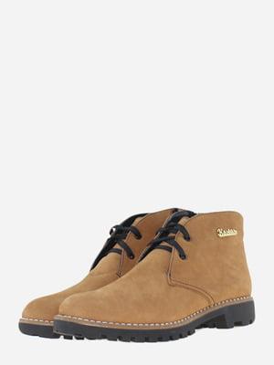 Ботинки цвета охры   5662906