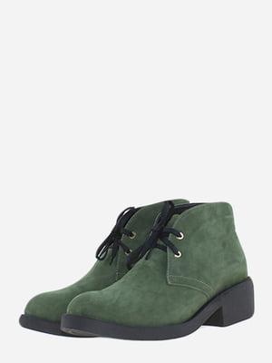 Черевики зеленого кольору | 5662909