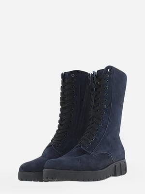 Ботинки синие   5662917