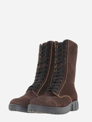 Ботинки коричневого цвета   5662921