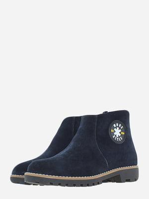Ботинки синие   5662922
