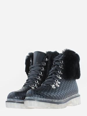 Ботинки черные | 5666576