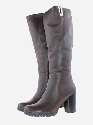 Чоботи коричневого кольору | 5666582