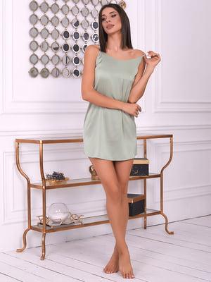 Ночная рубашка оливкового цвета | 5666599