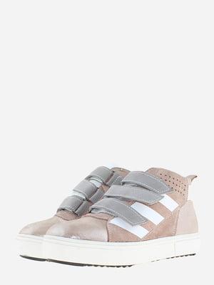 Ботинки цвета пудры | 5641129