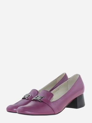 Туфлі бузкового кольору | 5656532