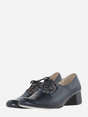 Туфлі чорні з візерунком | 5656542