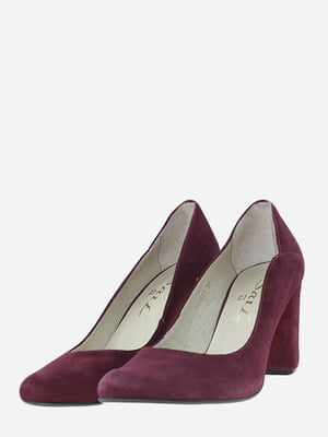 Туфлі бордові | 5656549