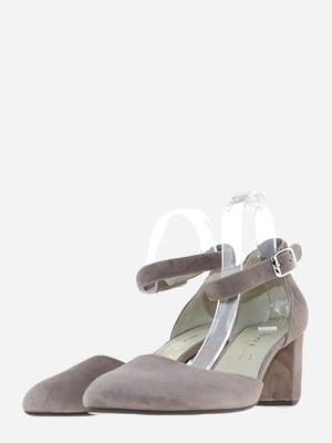 Туфлі кавового кольору | 5656550