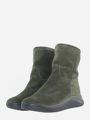 Ботинки цвета хаки | 5656575