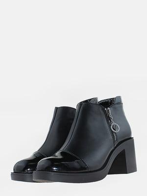 Ботинки черные | 5666526