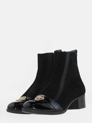 Ботинки черные | 5666529