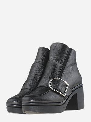 Ботинки стального цвета | 5666530