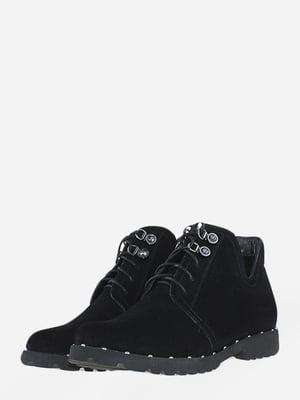 Ботинки черные   5666534