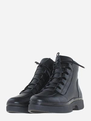 Ботинки черные   5666542