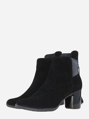 Ботинки черные   5666543