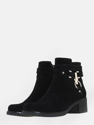 Ботинки черные   5666547