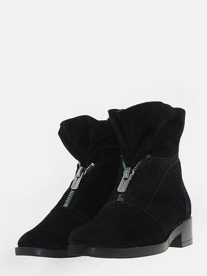 Ботинки черные   5666553