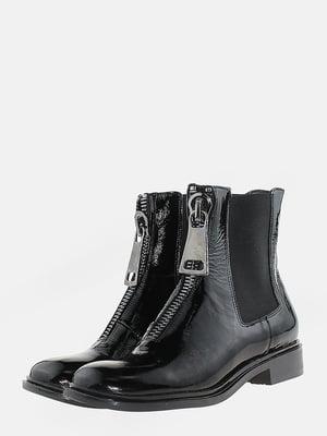 Ботинки черные   5666556