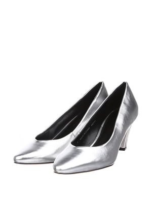 Туфлі сріблястого кольору | 5667651