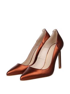 Туфлі мідного кольору | 5667655