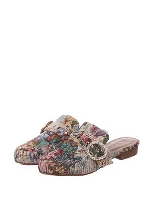 Мюли комбинированной расцветки | 5667696