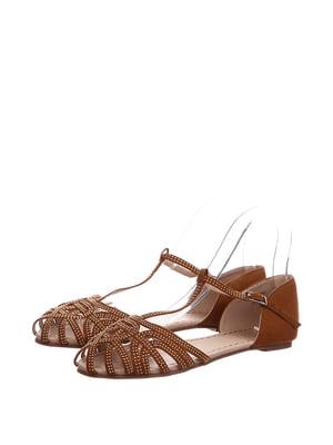 Босоніжки коричневі | 5667731