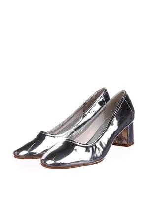 Туфлі сріблястого кольору | 5667735