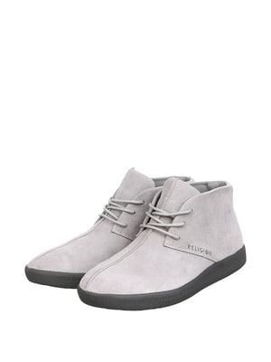Ботинки светло-серые | 5667605