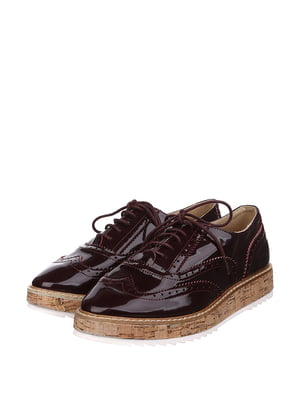Туфлі бордові   5667637